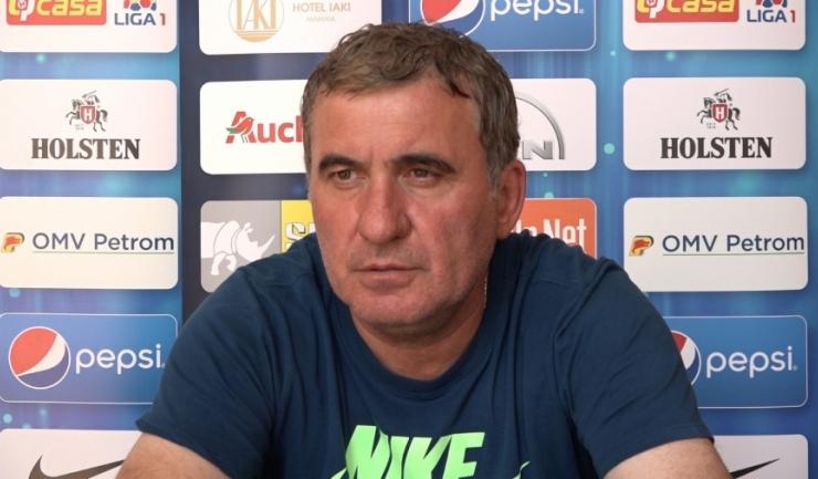 """Gheorghe Hagi, manager tehnic: """"Ambele echipe sunt în formă"""""""