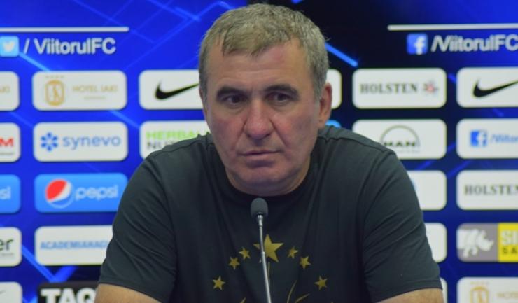 """Gheorghe Hagi, manager tehnic Viitorul: """"Mai e un coleg de-al tău, pe acolo, care a făcut şi el ceva"""""""