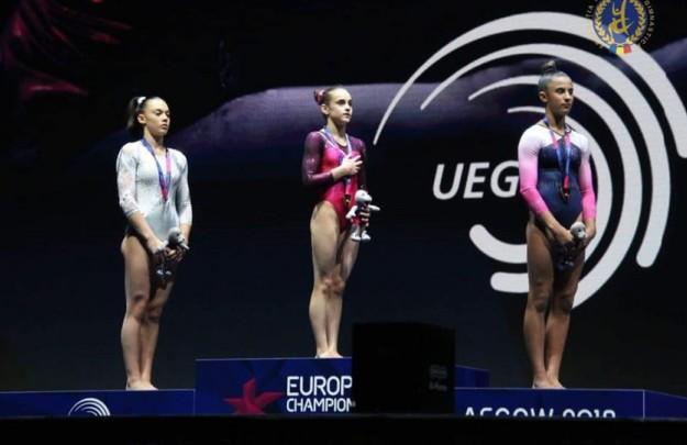 Sursa foto: Facebook Federaţia Română de Gimnastică - Emilia Nicolae