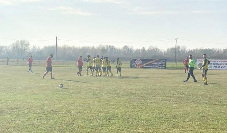 AS Pelinu Gold 2019 a încheiat anul pe primul loc în Seria Sud a Ligii a V-a (sursa foto: Facebook A.s Gold Pelinu 2019)