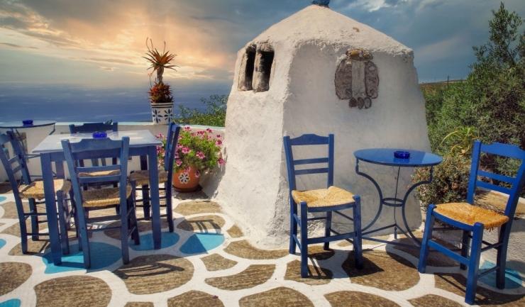 Taverna, Creta. Foto: Pixabay