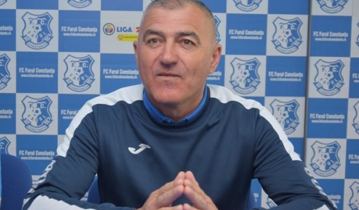 """Petre Grigoraş, antrenor principal SSC Farul: """"Consider că a fost o manieră total diferenţiată de a lua decizii în foarte multe momente ale jocului"""""""