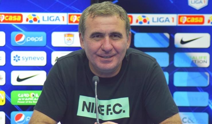 "Gheorghe Hagi, manager tehnic Viitorul: ""Un meci fantastic, frumos"""