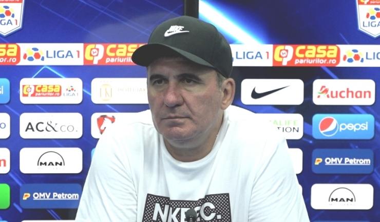 Gheorghe Hagi a trăit la intensitate maximă partida Viitorul - Dinamo