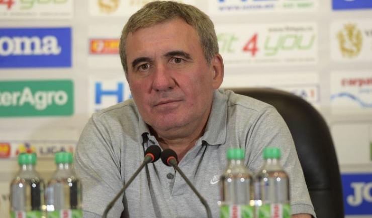 """Gheorghe Hagi, manager tehnic Viitorul: """"Când nu câştig, nu îmi place"""""""