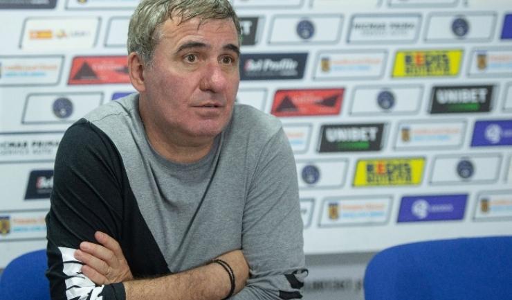 """Gheorghe Hagi, manager tehnic Viitorul: """"Mi-a fost teamă că vom pierde"""" (sursa foto: www.fcviitorul.ro)"""