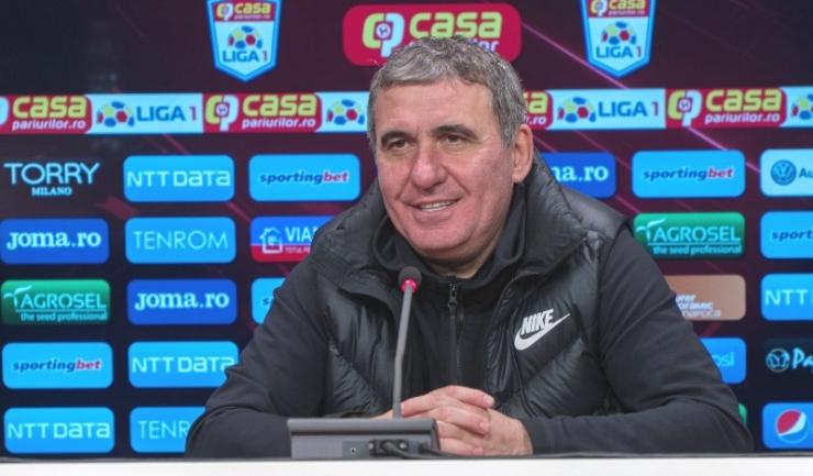 """Gheorghe Hagi, manager tehnic Viitorul: """"La noi, în schimb, din contră, s-a distrus totul"""" (sursa foto: www.fcviitorul.ro)"""