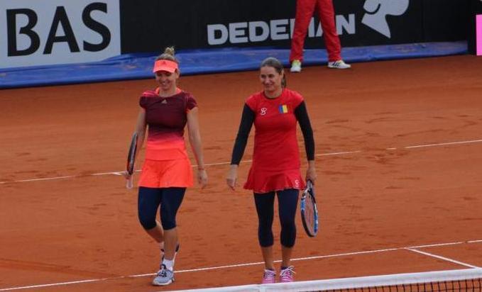 Simona Halep şi Monica Niculescu