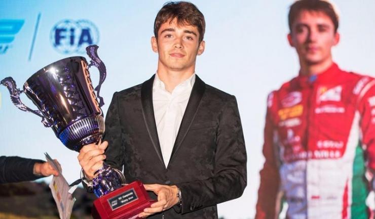 Francezul Charles Leclerc, campion mondial în Formula 2, este cel mai bun pilot debutant al anului 2017