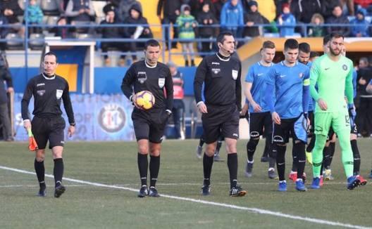 Ovidiu Haţegan a condus la centru partida de la Madrid