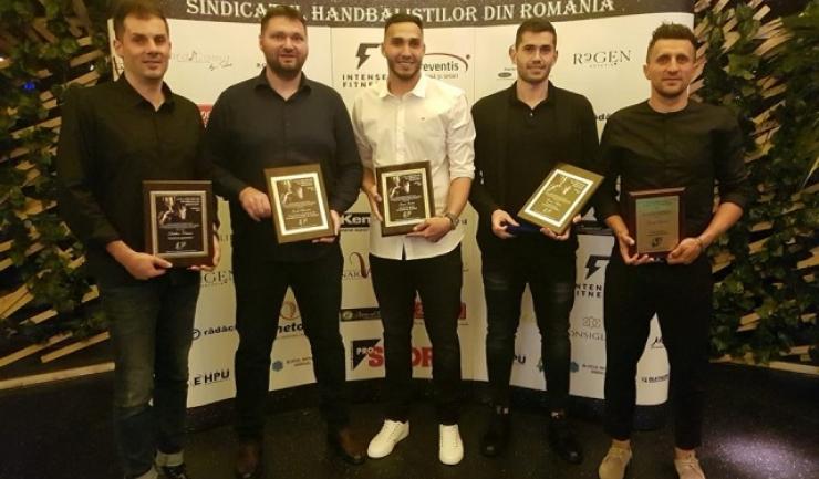 Dalibor Cutura, Ionuţ Rudi Stănescu, Ionuţ Iancu, Zoran Nikolic şi George Buricea (sursa foto: Facebook Rudi Stanescu)