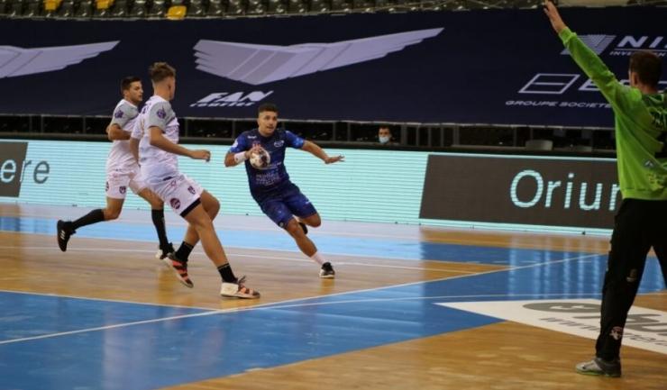 Extrema Alexandru Andrei a înscris cele mai multe goluri pentru HCDS (sursa foto: www. hcdobrogeasud.ro)