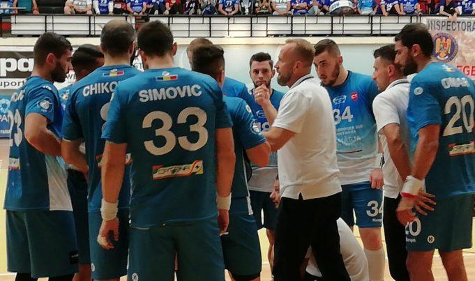 Handbaliştii constănţeni s-au impus la scor (sursa foto: captură Dotto TV)
