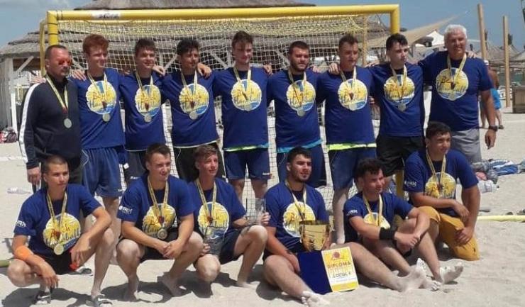 Juniorii A de la HCDS şi-au păstrat titlul (sursa foto: www.hcdobrogeasud.ro)