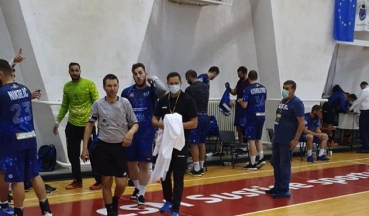 Handbaliştii constănţeni au început cu dreptul noul sezon (sursa foto: www. hcdobrogeasud.ro)