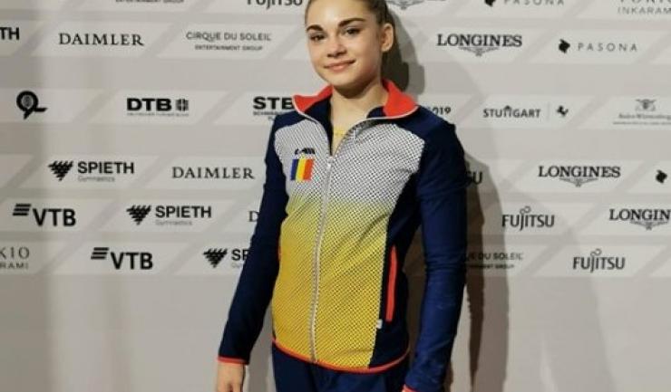 Maria Holbură (sursa foto: Facebook Fangymnastics - Emilia Nicolae)
