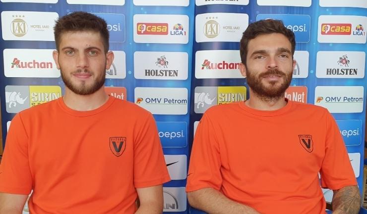Paul Iacob şi Aurelian Chiţu sunt încrezători înaintea meciului de la Sibiu