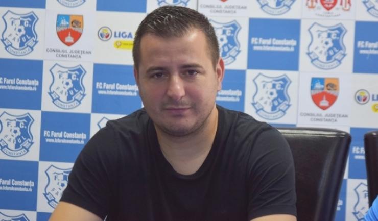 """Ianis Zicu, antrenor FC Farul: """"Nu mă gândeam că în iarnă vom fi la şase puncte de locul de baraj"""""""