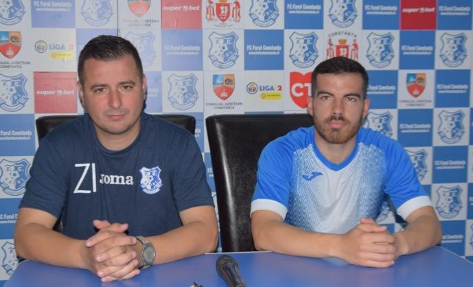 Ianis Zicu şi Mihailo Mitrov se gândesc doar la victorie
