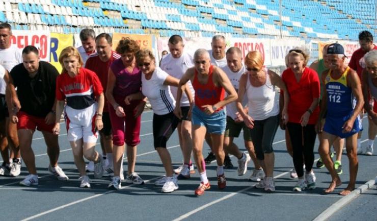 """În urmă cu şase ani, Ilie Floroiu a alergat pe pista stadionului """"Gheorghe Hagi"""" din Constanţa"""