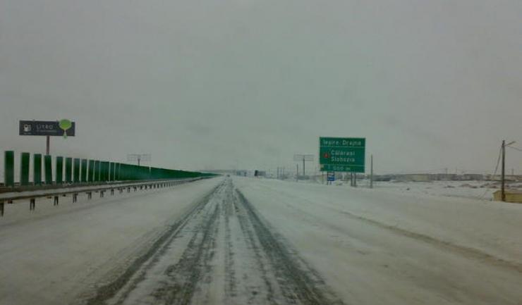 Pe Autostrada Soarelui se circulă controlat. Vezi pe ce tronson