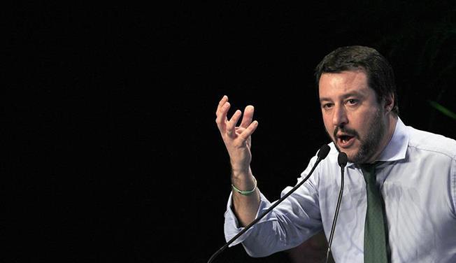 """Ministrul de interne şi vicepremierul italian Matteo Salvini: """"Într-un an, vom vedea dacă Europa unită va mai exista sau nu"""""""