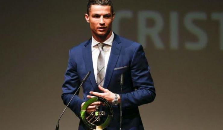 Cristiano Ronaldo a fost desemnat cel mai bun fotbalist portughez al anului 2017