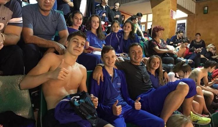 Răzvan Florea este mulțumit de rezultatele obținute la Naționalele de poliatlon de către sportivii de la Atena Sport Club Constanța
