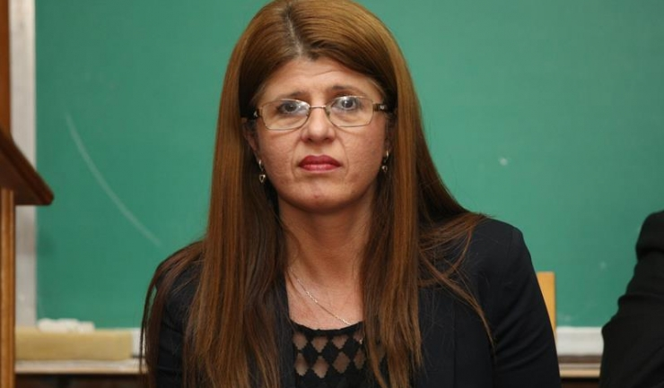 Inspector școlar general din cadrul ISJ, prof. Gabriela Bucovală