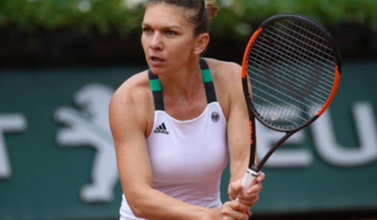 Simona Halep nu a putut juca din cauza ploii