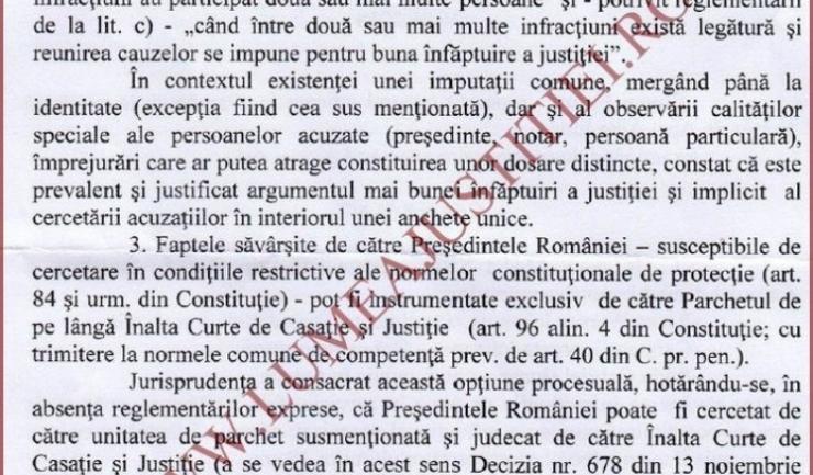 Ordonanța emisă de Parchetul Curții de Apel Alba Iulia poate fi citită integral accesând facsimilurile din galeria foto.