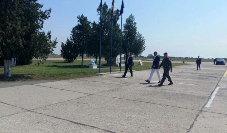 Președintele Klaus Iohannis a fost primit, joi, la Centrul Administrativ