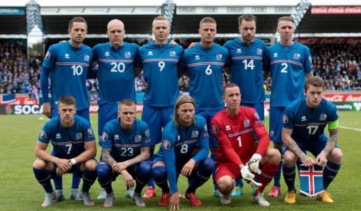 Fotbaliștii islandezi vor juca marți seară primul lor meci la un turneu final major