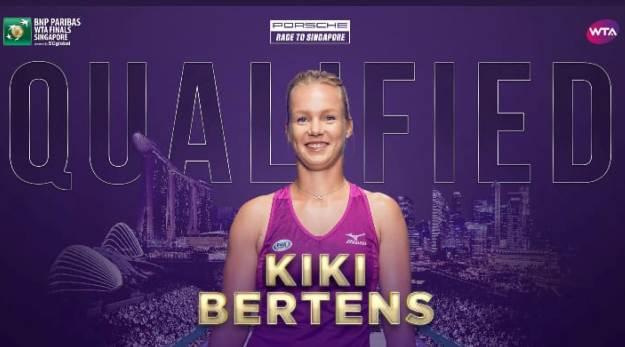 Olandeza Kiki Bertens a debutat cu dreptul în turneul de la Singapore (sursa foto: www.wtatennis.com)
