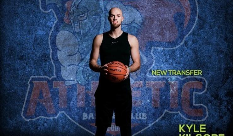 """Kyle Kilgore este noul jucător al """"Gladiatorilor din Tomis"""" (sursa foto: Facebook Baschet Club Athletic Constanta)"""