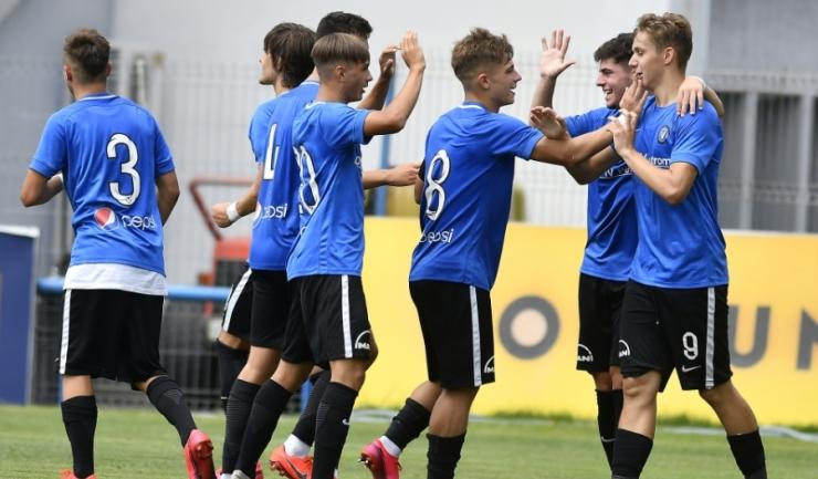 Pentru FC Viitorul II Constanţa vor evolua, preponderent, jucătorii echipei U19 (sursa foto: www.fcviitorul.ro)