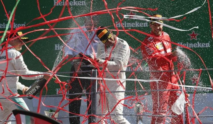 Lewis Hamilton a avut un weekend perfect la Monza