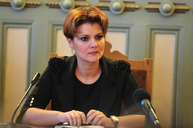 Ministrul Muncii, Lia Olguţa Vasilescu