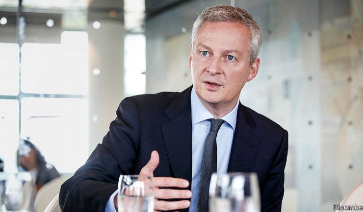 """Ministrul francez al Economiei, Burno Le Maire: """"Nu putem să acceptăm vreo (cripto)monedă de schimb cu acelaşi tip de putere ca a celor suverane"""""""