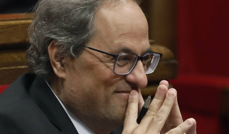 Liderul Cataloniei, Quim Torra