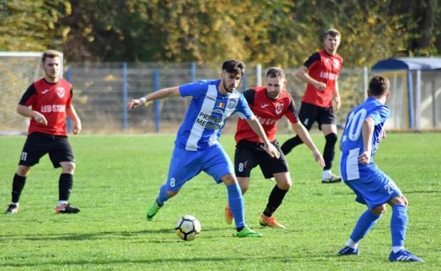Axiopolis Cernavodă şi CS Medgidia sunt la egalitate de puncte în clasament (sursa foto: Facebook Clubul Sportiv Medgidia)