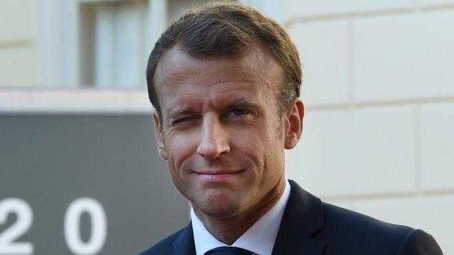 """Emmanuel Macron: """"Viitorul Marii Britanii nu poate fi decât în Europa"""""""