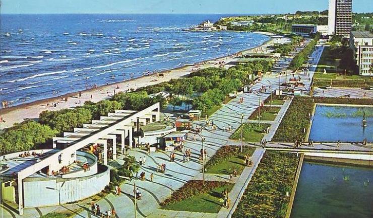 Mamaia, zona Perla 1977, foto: facebook - Litoralul de altadata