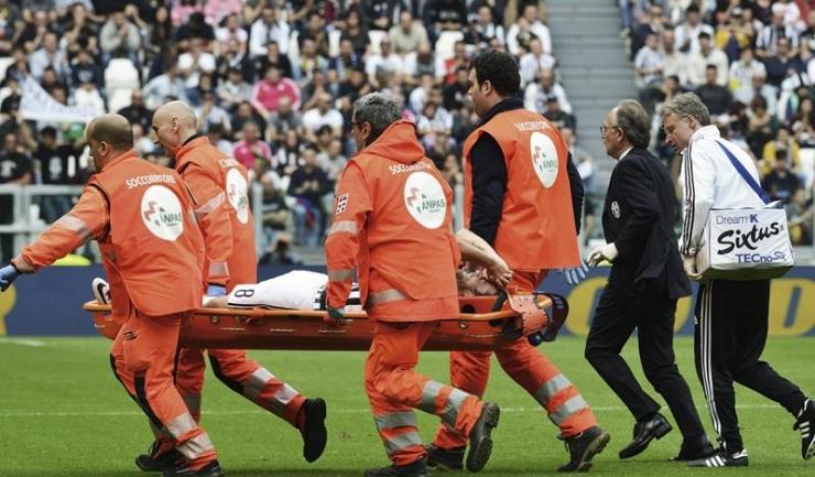 Claudio Marchisio a înțeles imediat cât de gravă este accidentarea sa