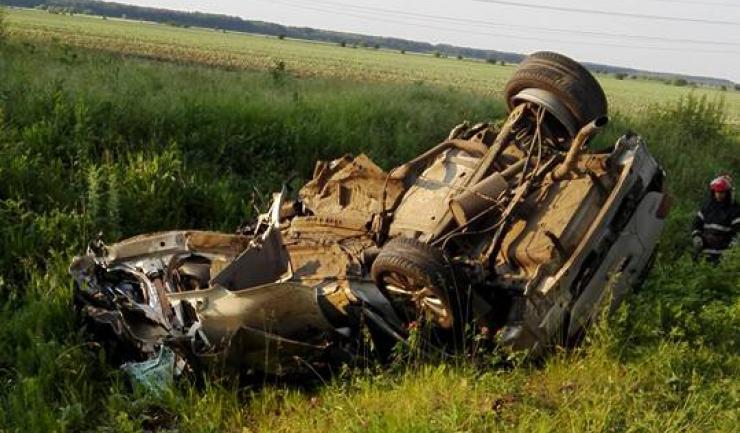Mașina în care se afla Dan Condrea. Sursa foto: ProTv