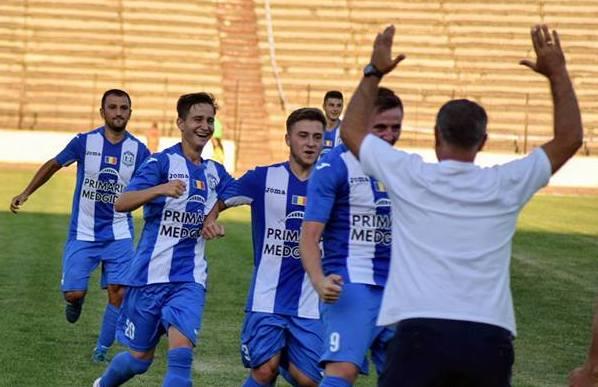 CS Medgidia şi-a trecut în cont al doilea succes din actualul campionat (sursa foto: Facebook Clubul Sportiv Medgidia)
