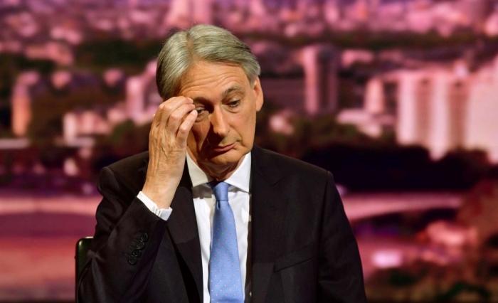 Ministrul britanic al finanţelor, Philip Hammond