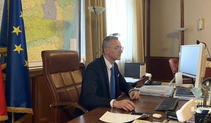 Ministrul Justiţiei, Stelian Ion. Foto: facebook, Ministrul Justiţiei