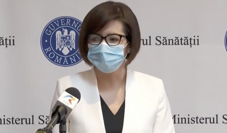 Ministrul Sănătăţii, Ioana Mihăilă, foto - facebook