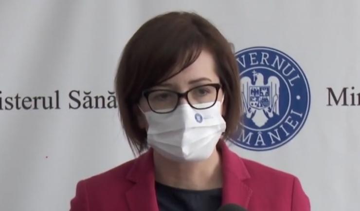 Ministrul Sănătăţii, Ioana Mihăilă; foto: facebook
